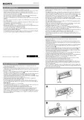 sony dsx ms60 manual sony dsx ms60 notes on the tune tray tray unit