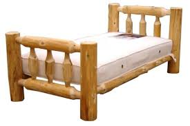 Cheap Log Bed Frames Rustic Arts Queen Chest Discount Interior ...