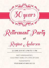 Sample Retirement Party Invitation Template Retirement