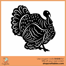 Available in png and vector. Free Turkey Svg Cut File Craftables