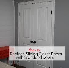 Change Sliding Closet Doors To Bifold Door Ideas themiraclebiz