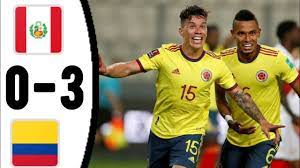 Peru vs Colombia, 0 - 3/ All Goals and ...