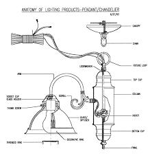 anatomy of chandelier pendant