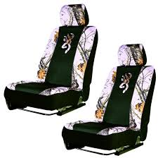 browning camo seat covers modernist front car truck suv pink low back bucket camouflage buckmark pair