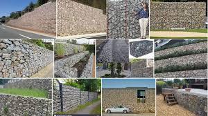 how to build gabion walls gabion