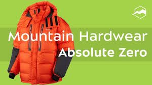 <b>Куртка Mountain Hardwear</b> Absolute Zero. Обзор - YouTube