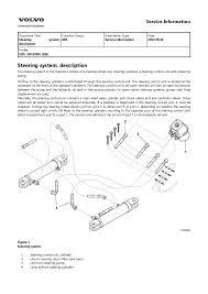volvo sd116dx single drum roller service repair manual