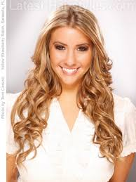 easy chocolate brown hairstyle for long hair