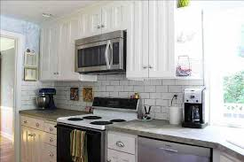 white cabinets dark countertop what color backsplash