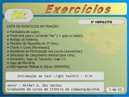 Fltk Summer Course Part V Fifth Impact Exercises