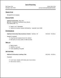 ... How To Build A Job Resume One Write For 23 Remarkable With Only ...