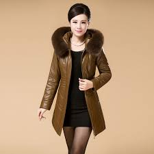 new 2017 womens winter jacket luxury down parkas with fox fur collar hooded duck down jackets