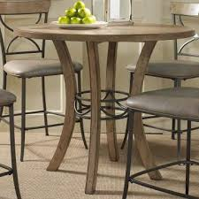 hilale charleston round counter height table in desert tan 4670 837 838