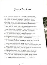 symsonia high school yearbook memoirs 1951 junior class poem