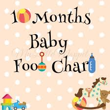 6 To 9 Months Baby Food Chart 10 Months Baby Food Chart With Indian Recipes