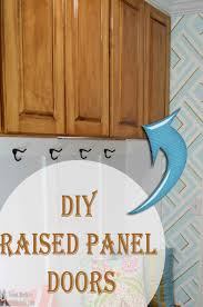 remodelaholic raised panel cabinet doors diy kitchen cabinet doors designs