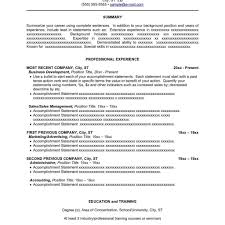 Sample Combination Resume Resume Sample Combination Format Cover Letter And Resume Samples 11