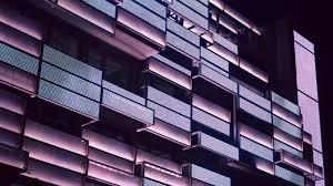 building balcony abstract 4k wallpaper