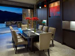 wood slab dining table beautiful: modern dining room design by angelica henry design