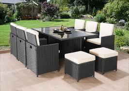 garden set. CUBE RATTAN GARDEN FURNITURE SET CHAIRS SOFA TABLE OUTDOOR PATIO WICKER 10 SEATS Garden Set