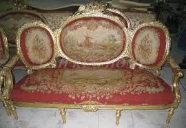 handmade living room furniture. antique set of sofa and chairs handmade living room furniture aubusson cover