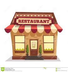 fancy restaurant building clipart. Wonderful Fancy Restaurant Exterior Stock Illustrations In Fancy Building Clipart T