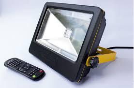 loftek 50w led floodlight remote controlled led outdoor flood light