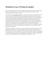 define definition essay okl mindsprout co define definition essay