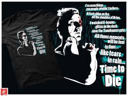 Blade Runner Quotes Gorgeous BladeRunner Batty TShirt Cool Quotes Movies By MrMeFO On DeviantArt