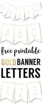 Letter For Banner Free Letters Printable Letter Templates For Banners Free Printable