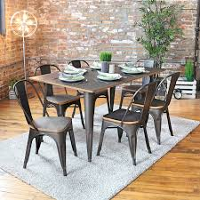 incredible claremont 7 piece dining set reviews birch lane industrial dining room chairs plan