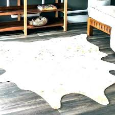 faux fake cowhide rug real vs animal skin rugs print zebra furniture s queens polar bear real tiger rug skin for animal