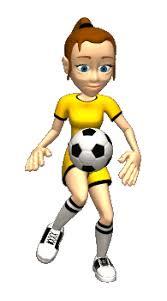 Image result for girls soccer cartoon