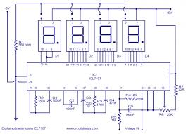 digital voltage meter circuit diagram meetcolab 500 x 361