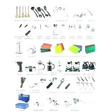 kitchen utensils list. Kitchen Utensils Names And Uses List Cooking