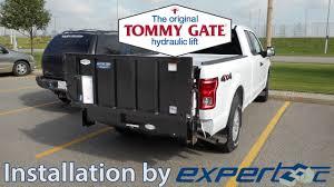 Tommy Gate Hydraulic Liftgate Upfit on a Ford F-150 - YouTube