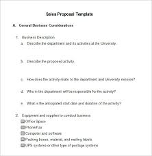 Product Sales Proposal Template Best Sales Proposal Templates 48 Free Sample Example Format Download