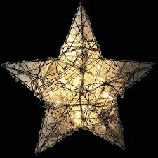 Beleuchteter Weihnachts Stern ø31cm Real