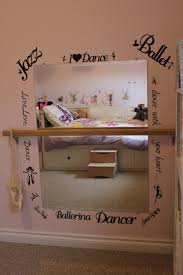 Mirrors For Girls Bedroom My Girl Would Love A Ballet Bar In Her Bedroom To Practice On I