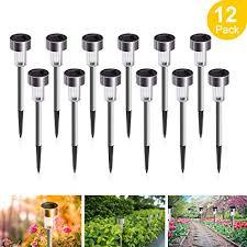 Solar Lights Outdoor, 12Pack Solar Garden Lights ... - Amazon.com