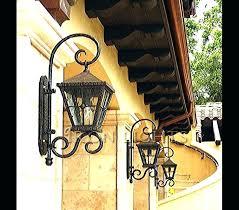 mediterranean outdoor lighting. Mediterranean Outdoor Lights Lighting Iron Light Gallery Garden S