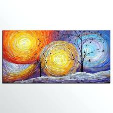 canvas paintings for sale. Abstract Artwork On Canvas Art Painting Tree Of Life Oil For Sale Paintings A