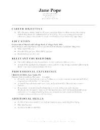 Good Objective Statements For Entry Level Resume Strong Resume Objectives Paknts Com