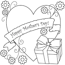 Small Picture Mothers Day Coloring Page Gift Coloring Book