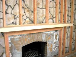 cover brick wall with wood. Simple Cover DHCR103_backofmantel_s4x3 In Cover Brick Wall With Wood