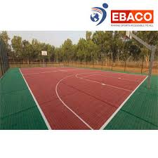 outdoor multiple colorultiple colors interlocking tiles basketball court