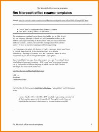 Microsoft Office Resume Templates 2010 Shazamforpcpara Com