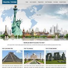 Travel Templates Download Free Jsr Travel Tours Joomla Template
