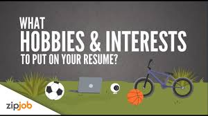 Hobbies And Interests Resume Hobbies And Interests You Need To Include On A Resume YouTube 29