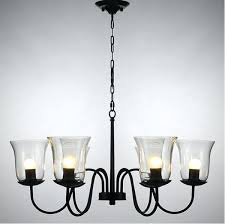 seeded glass globes shades iron chandelier ceiling fan shade chandeliers